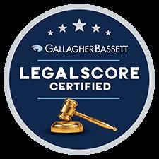 gallagher bassett legal score certified